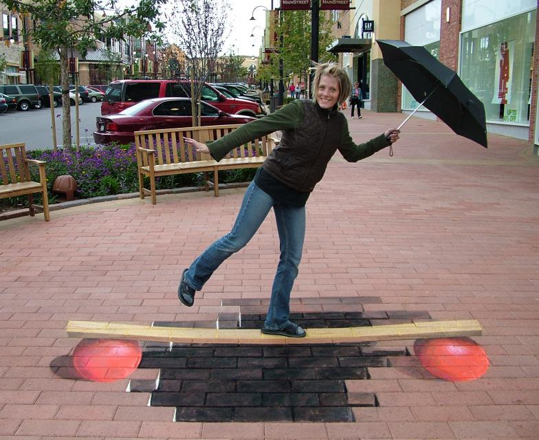 Chalk Art, Street drawing