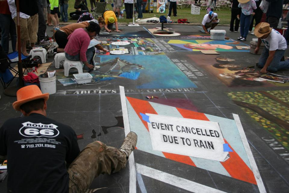 Santa Barbara, Chalk Art Festival