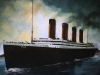 modern mixed media titanic