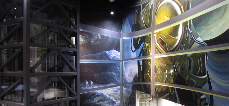 Exhibit Murals - Space Foundation & Discovery Center