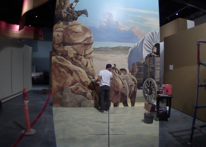 3D Interactive Painting at New Museum in Scottsdale